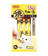Ciao Chu-ru Grilled Skipjack Dried Bonito 12gm x 4