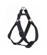 AM Adjustable Dog Harness Navy Blue 25mm x 28 inch - 36 inch