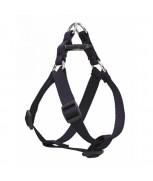 AM Adjustable Dog Harness Navy Blue 25mm x 28 inch - 36 inch