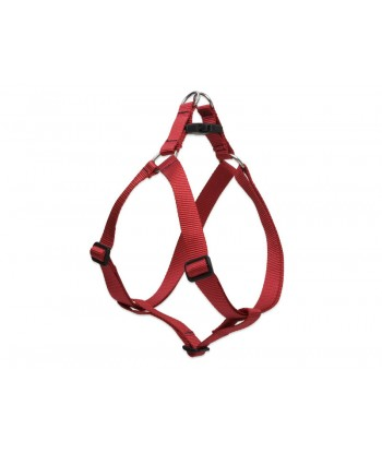 AM Adjustable Dog Harness Red 20mm x 16 inch - 26 inch