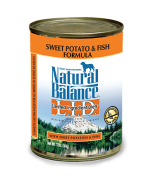 Natural Balance L.I.D. Limited Ingredient Diets® Sweet Potato & Fish Canned Dog Formula 369 gram