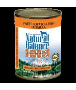 Natural Balance L.I.D. Limited Ingredient Diets® Sweet Potato & Fish Canned Dog Formula 369 gram